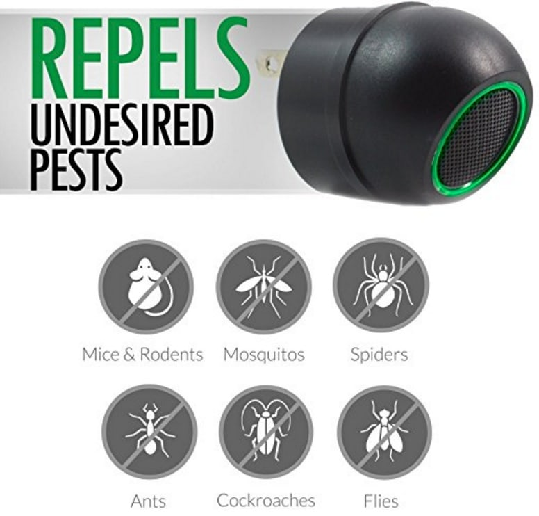 Pest repellent ultrasonic