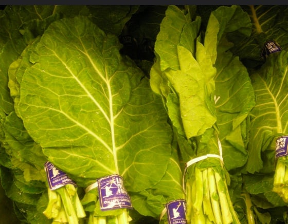Collards at the Market